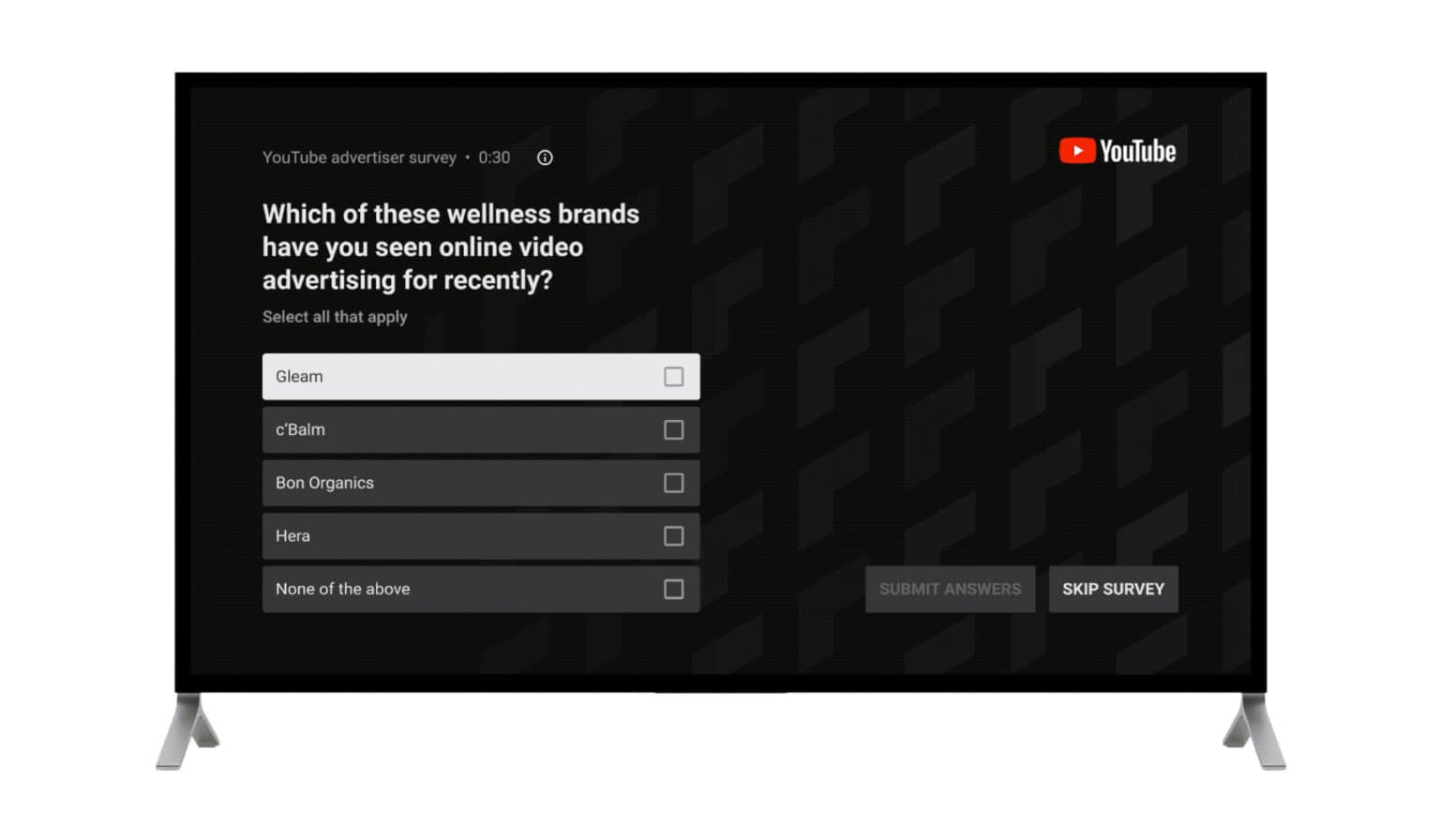 youtube.tv.survey