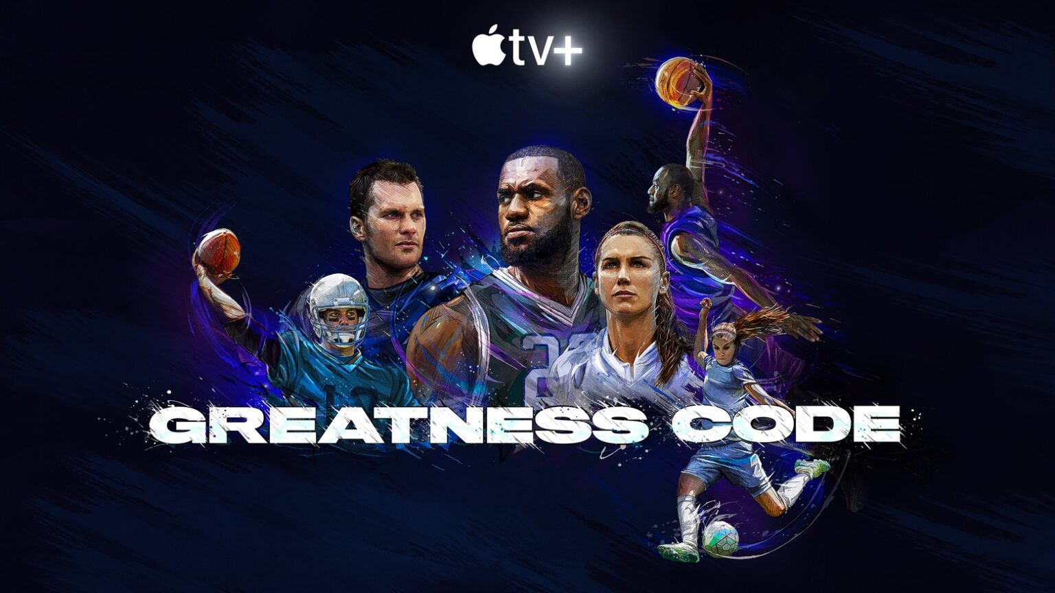 'Greatness Code' debuted from Apple TV+ on July 10, 2020