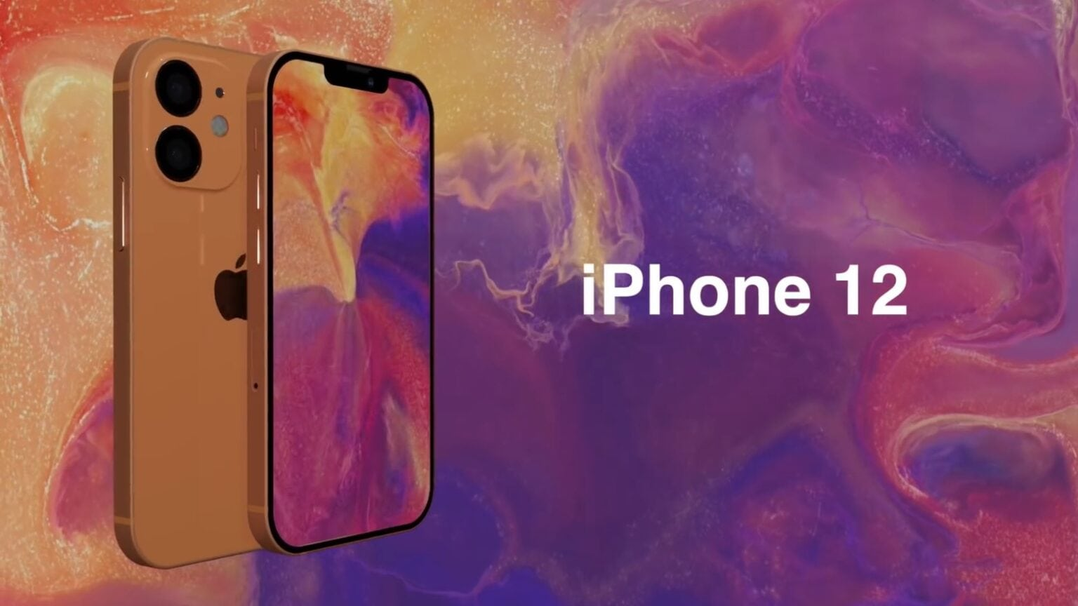 iPhone 12 rumors mix in this concept video.