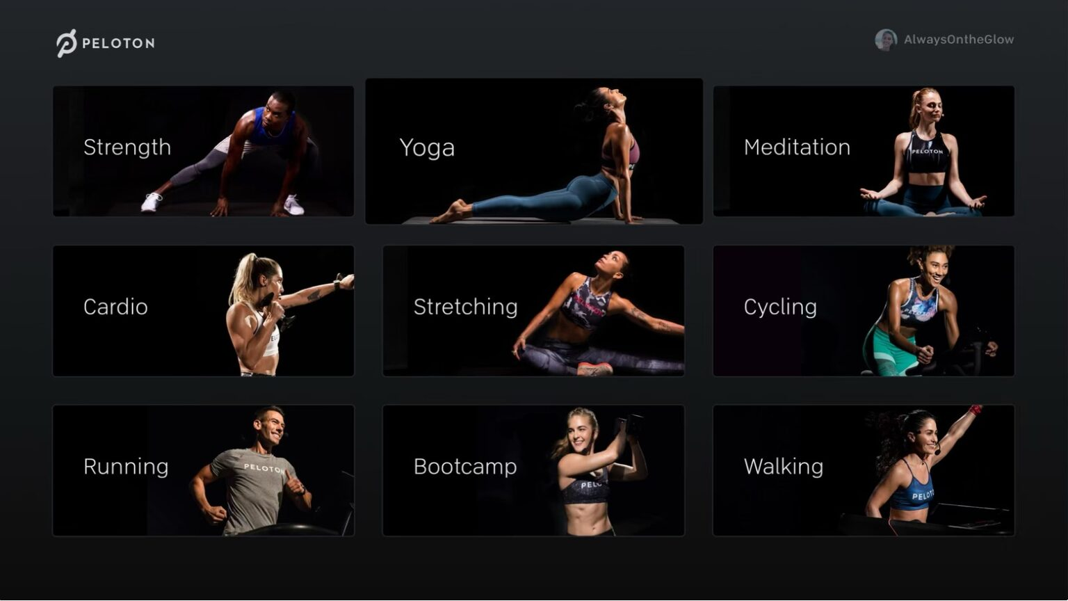 A Peloton Apple TV app debuted Tuesday