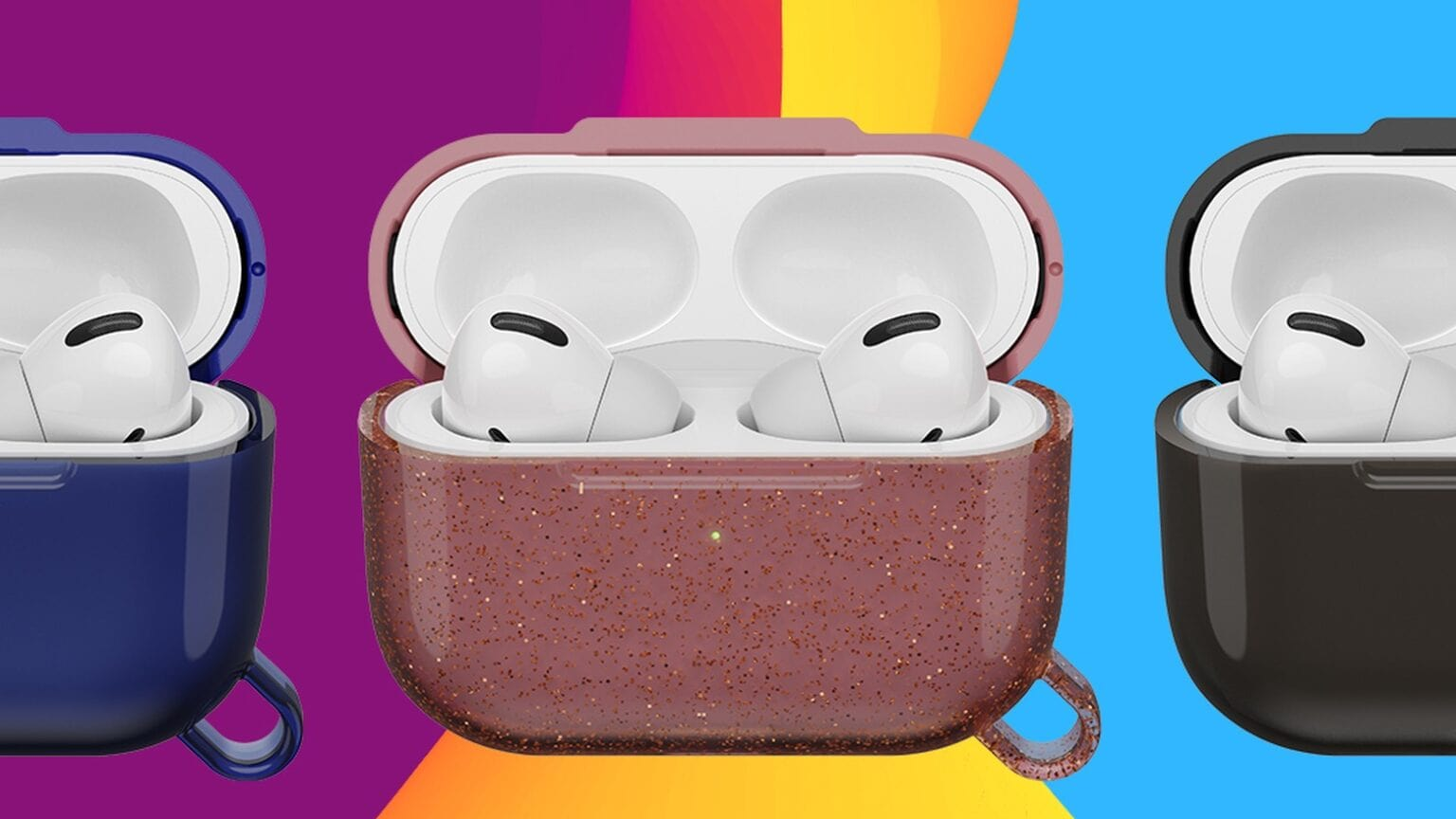 OtterBox AirPods case covers defend your headphones.
