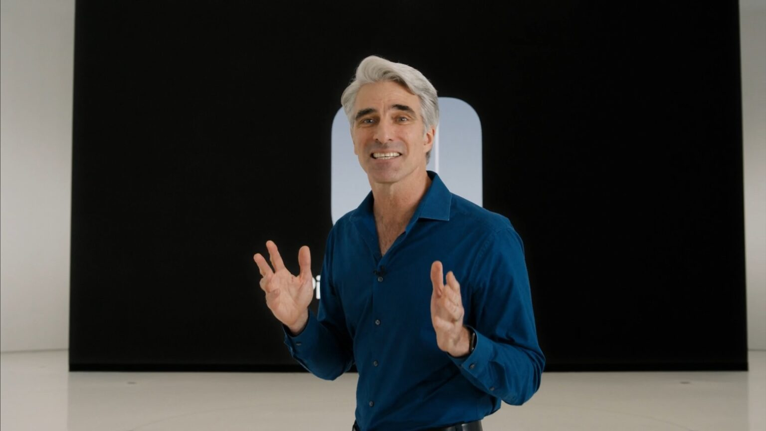 Craig Federighi explained today why there's no iPad Calculator app.