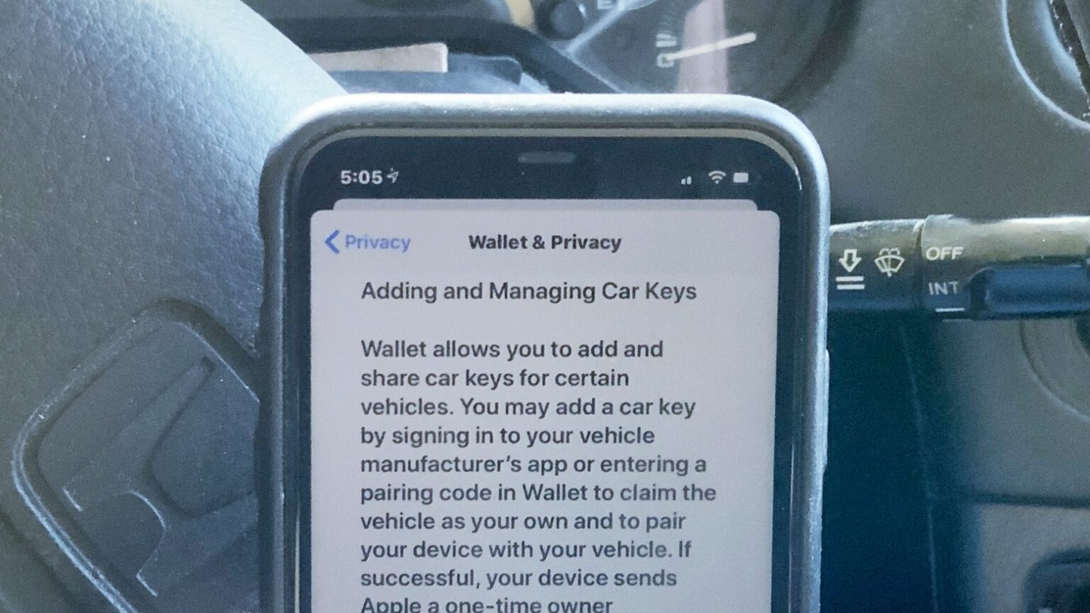 iPhone car key feature is a rumor no more.