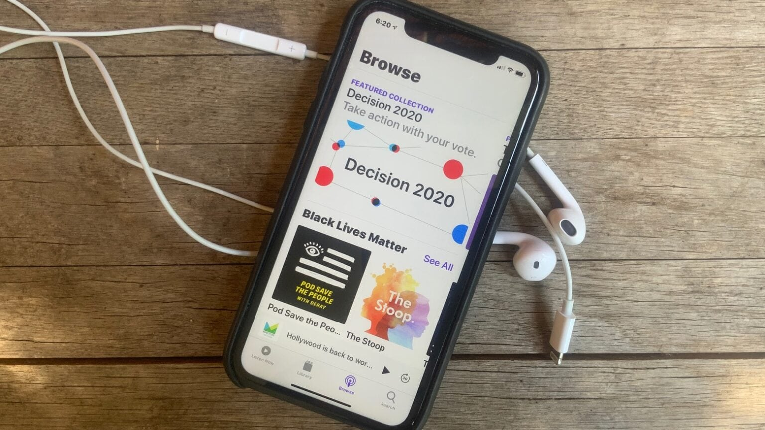 The Apple Podcasts app could be getting some new features in iOS 14.
