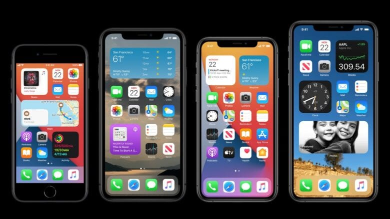 WWDC 2020 brought iPhone home screen widgets, hurray!