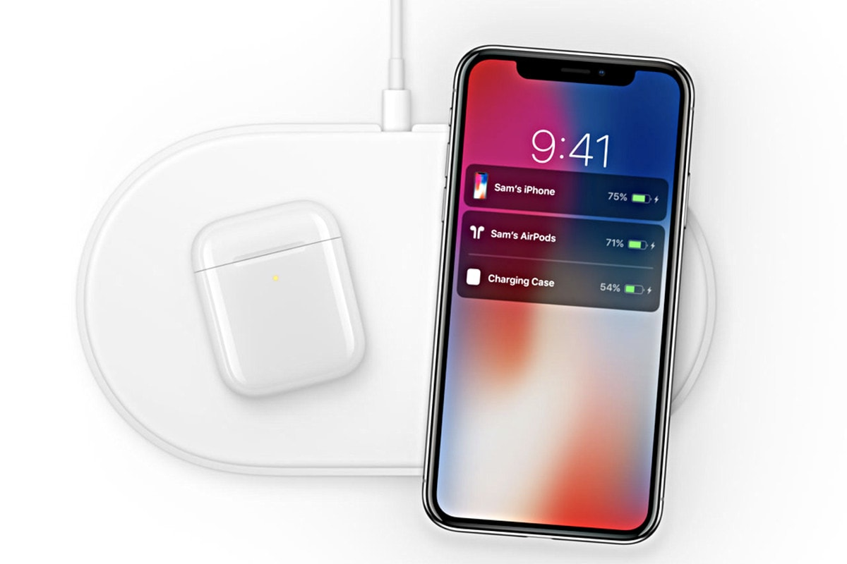 AirPods on AirPower