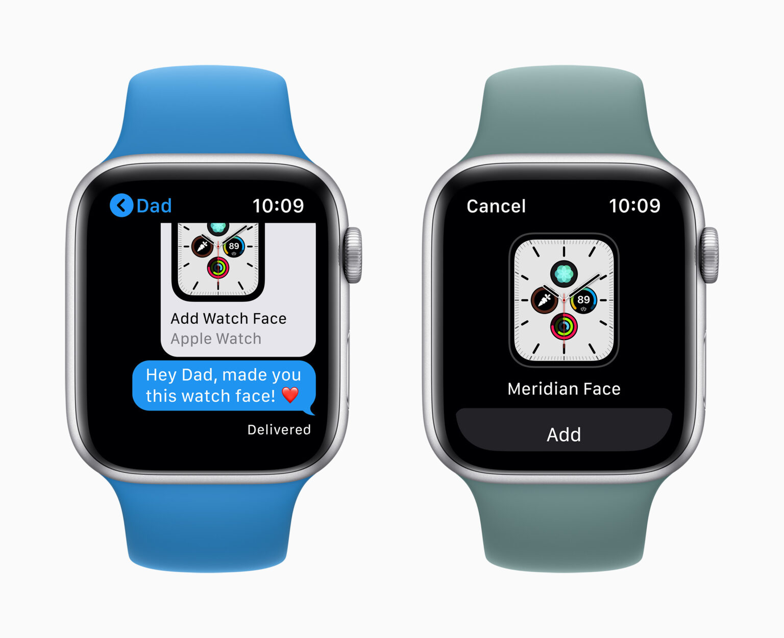 watchOS 7 on Apple Watch