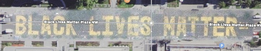 Black Lives Matter Plaza in Apple Maps