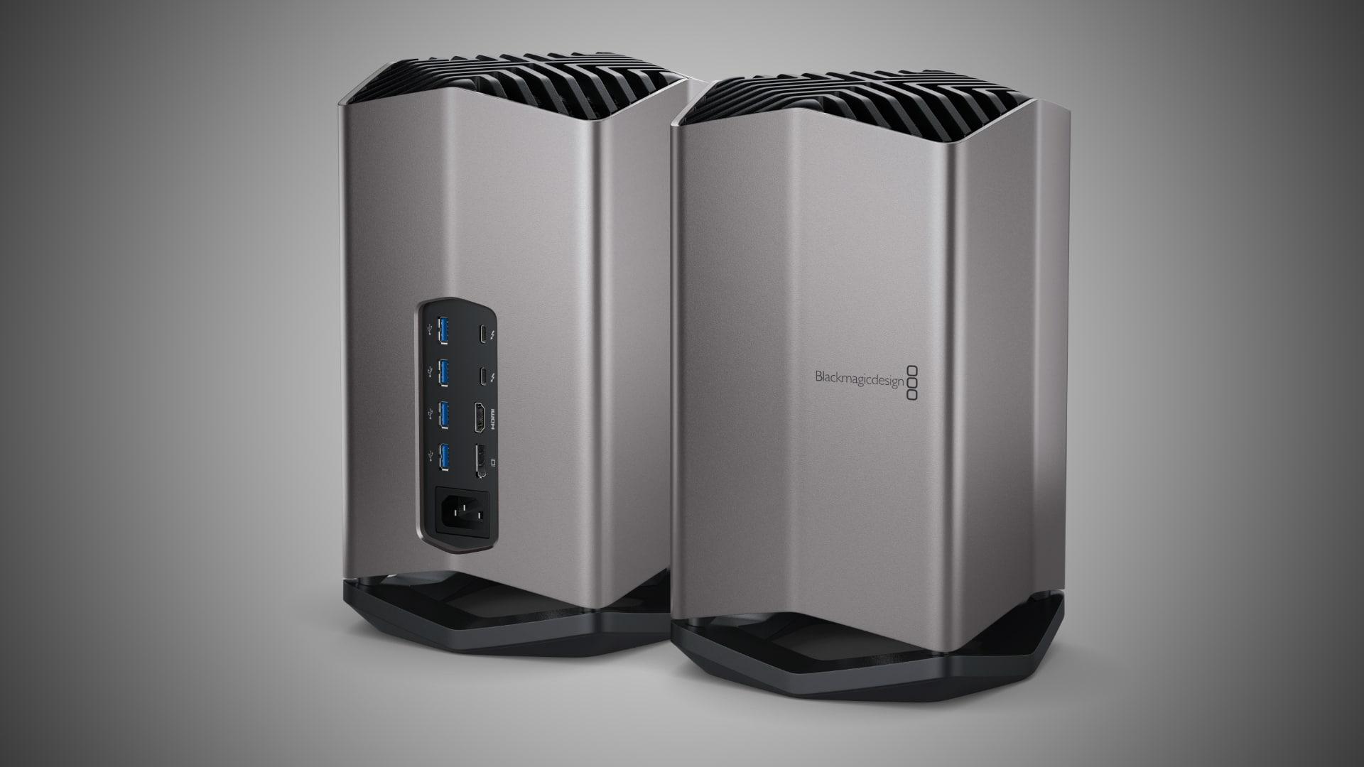 Blackmagic Discontinues Egpu Pro With Radeon Rx Vega 56 Graphics