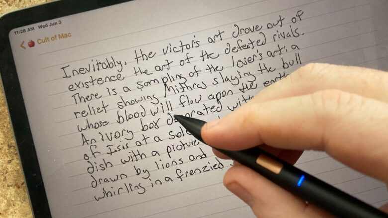 Adonit Note-UVC is great for taking notes.