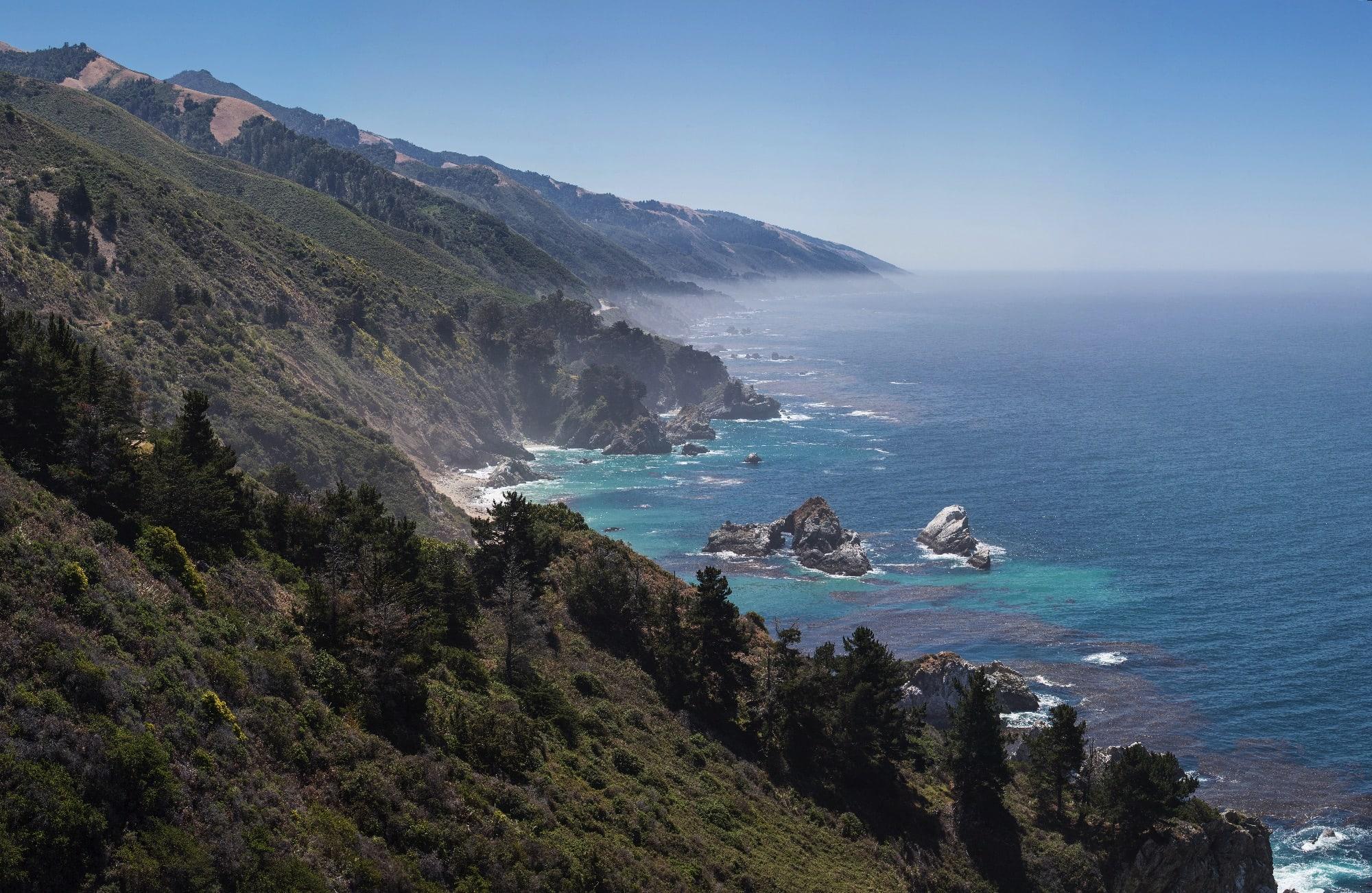 Central Californian Coastline Big Sur   May 2013