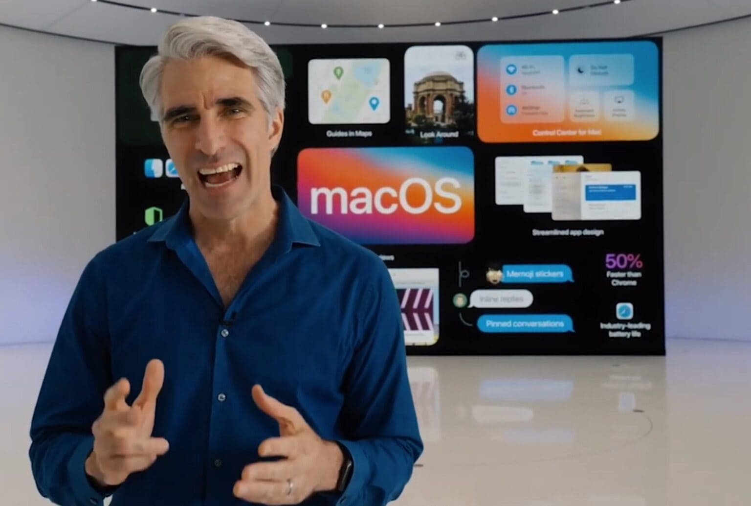 Craig Federighi at WWDC 2020: Is there no end to Craig Federighi's talents?