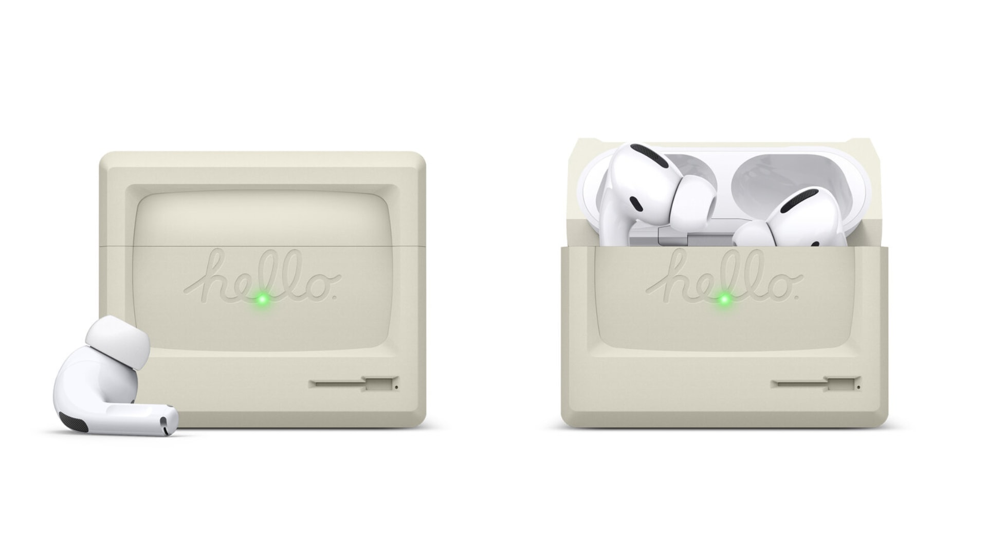 Awesome Airpods Case Inspired By A Classic Mac Goes Pro