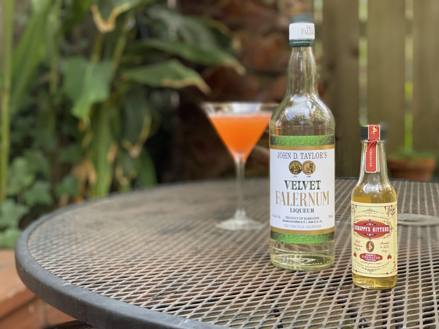 You need Velvet Falernum and Scrappy's Firewater Tincture to make a Spicy Dead Lady cocktail.