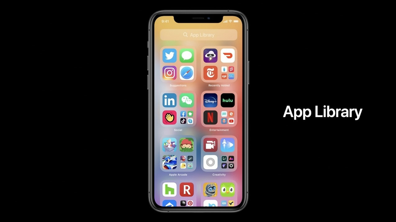 iOS 14's new App Library