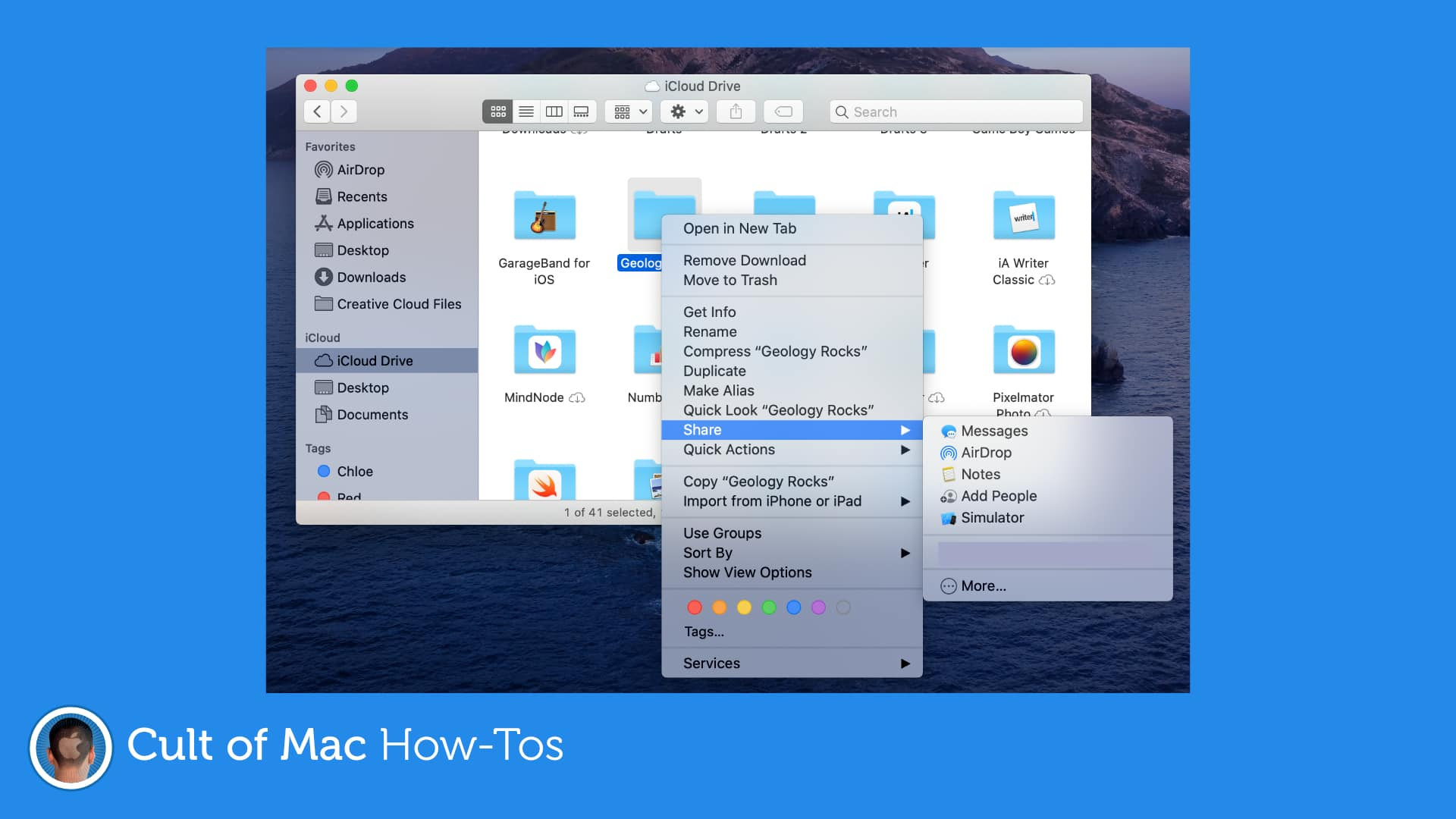 Share-iCloud-folder