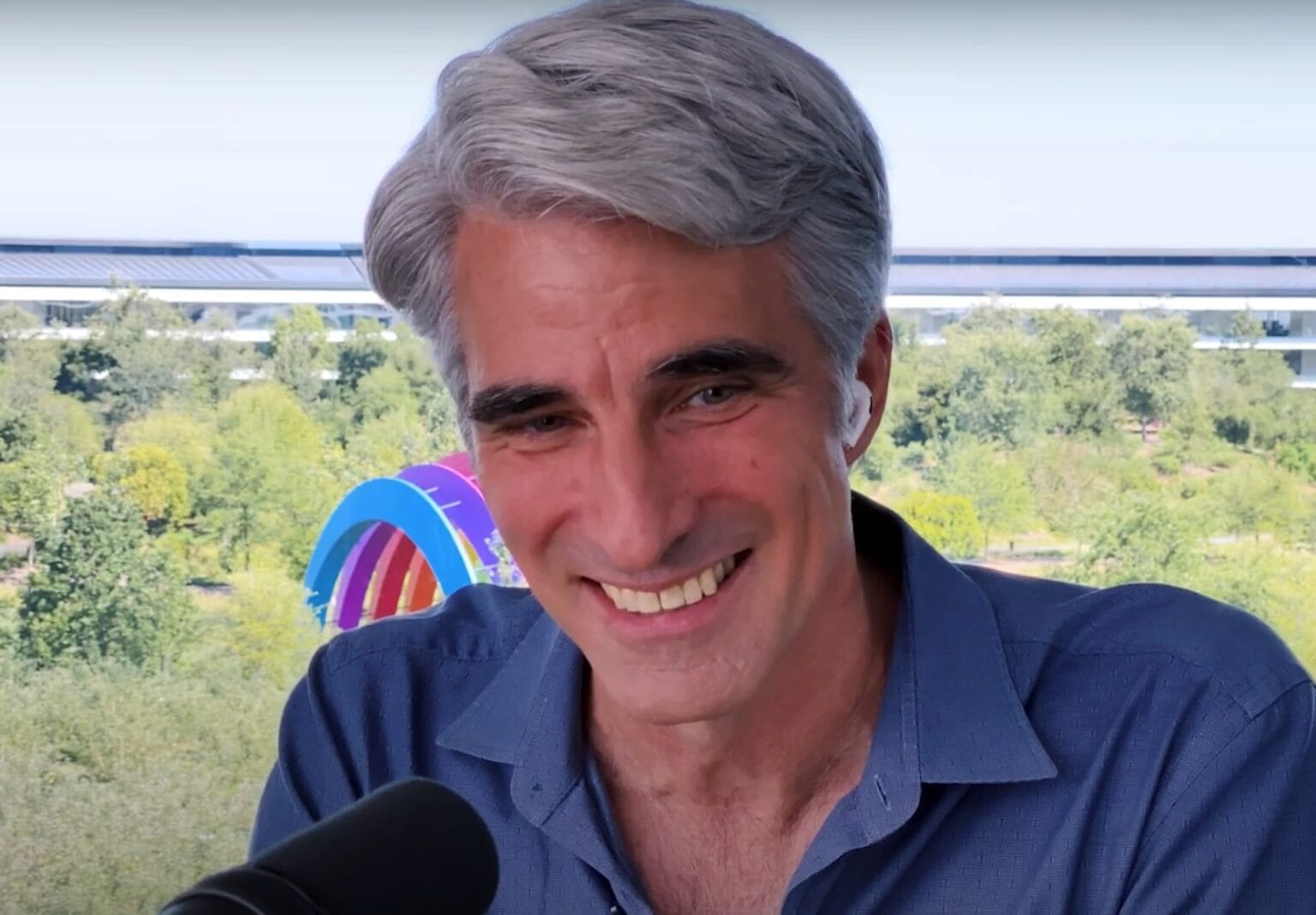 After Monday's successful WWDC keynote, Apple software chief Craig Federighi can breathe a sigh of relief.