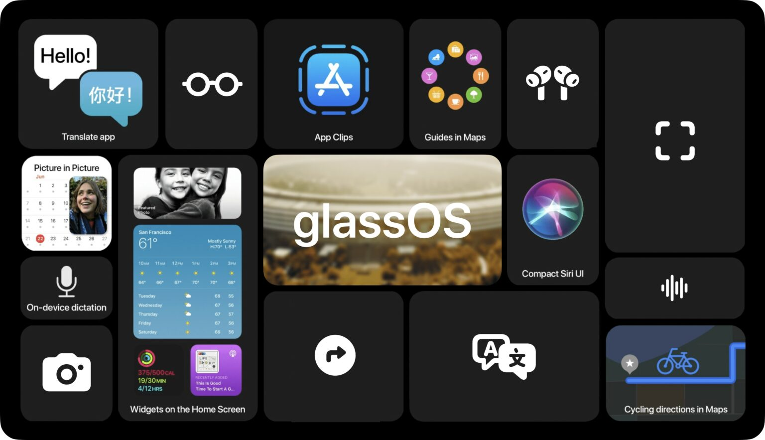 glassOS concept 3