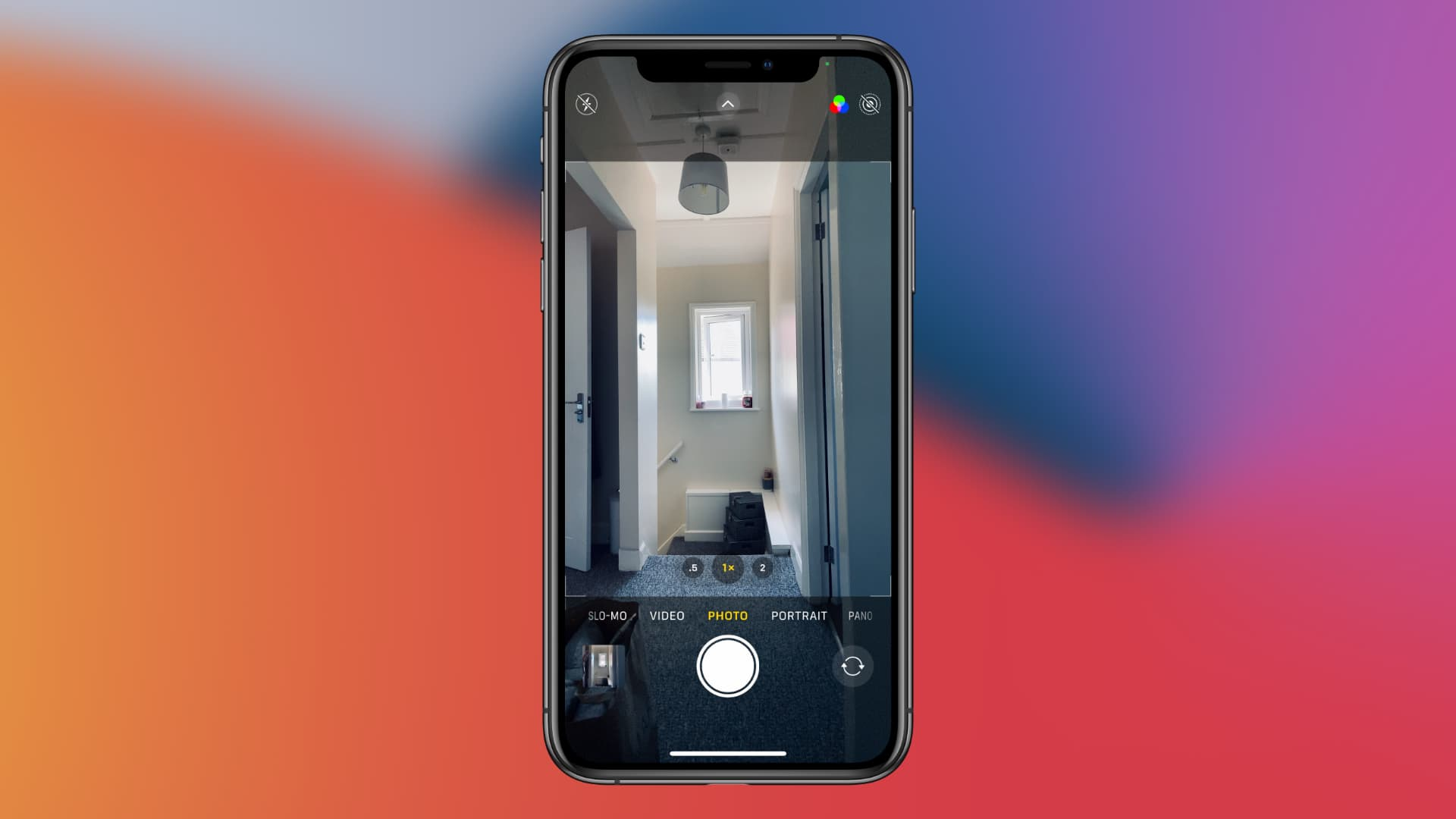 Camera app in iOS 14