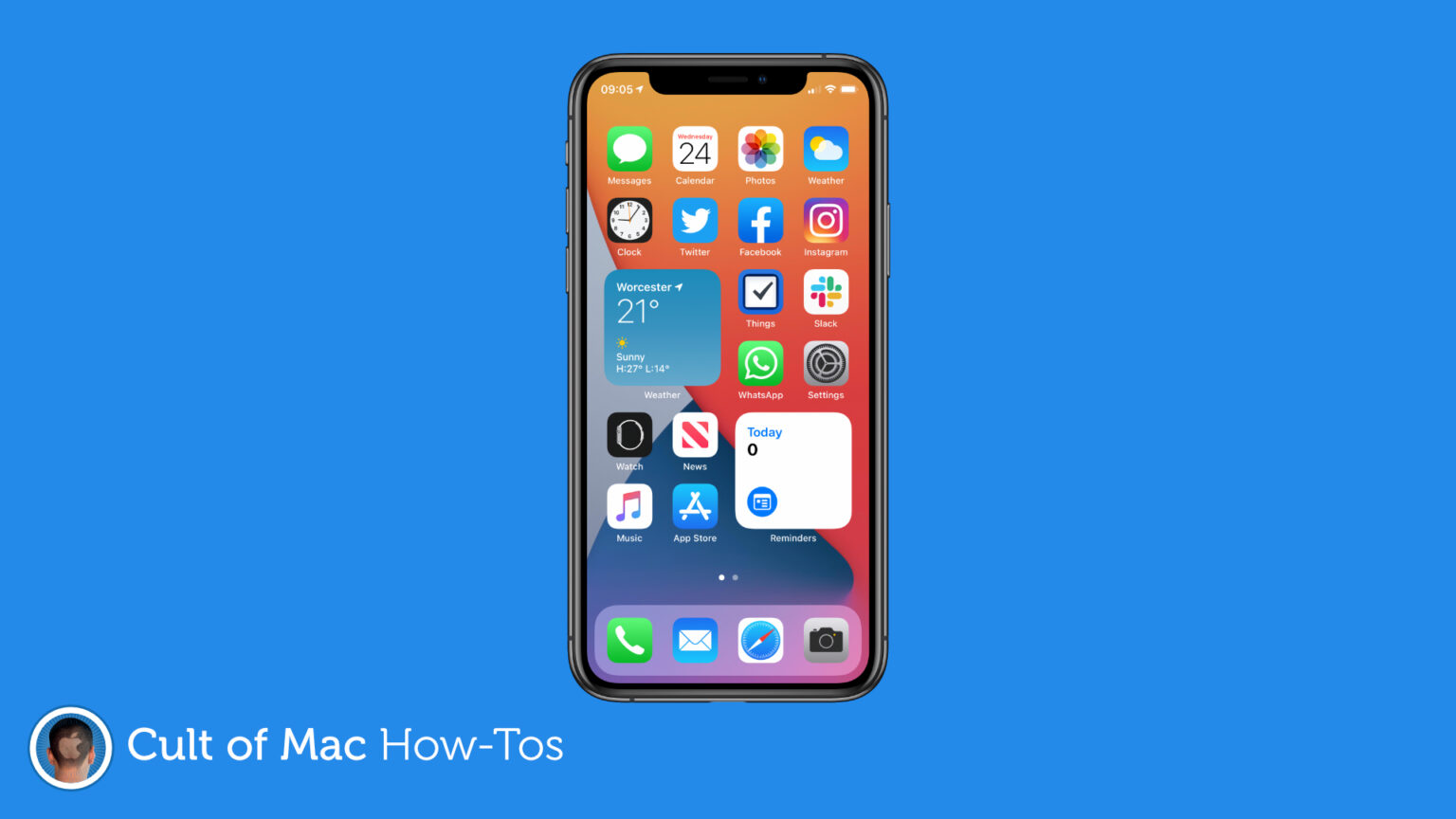 How to use widgets in iOS 14