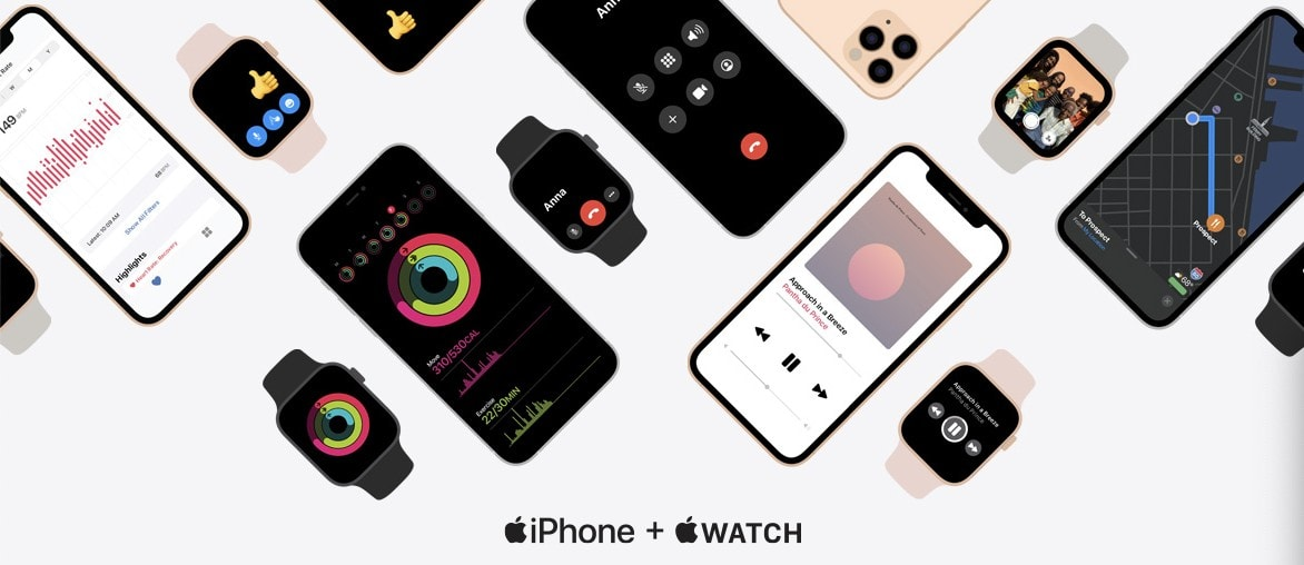 iPhone and Apple Watch a brilliant match.