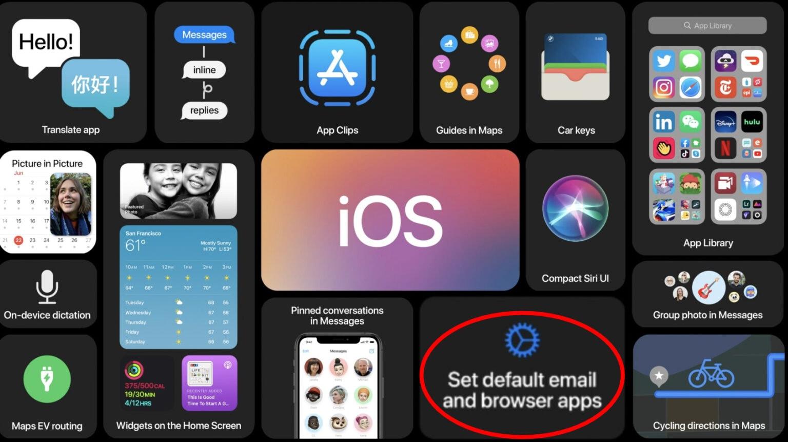 iOS 14 default apps