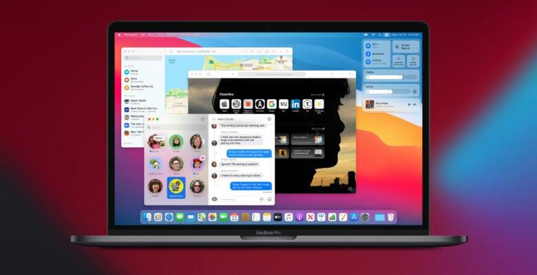 macOS Big Sur on a MacBook Pro