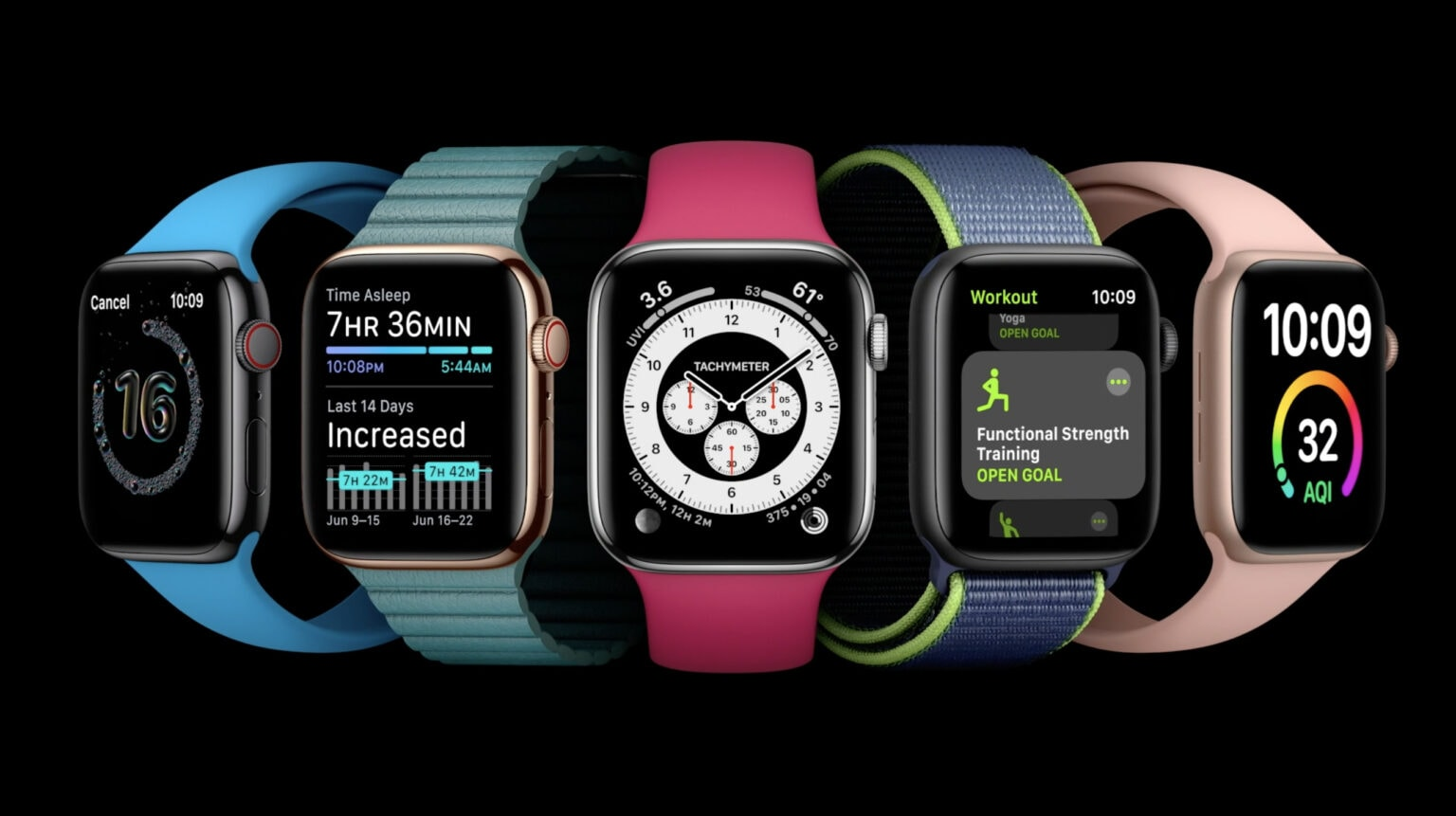 watchOS 7 introduces new complications and watch face sharing