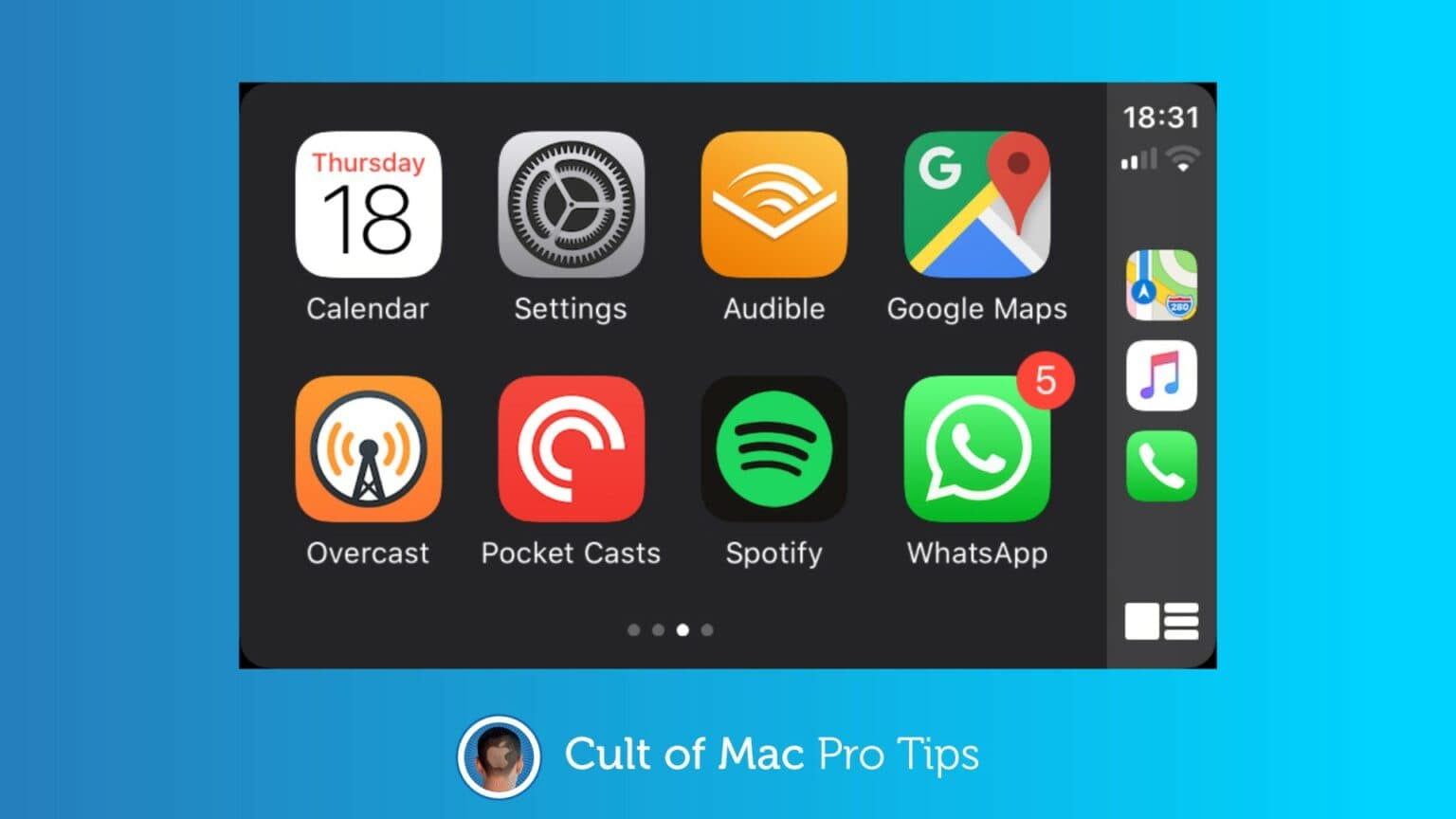 How to capture a CarPlay screenshot