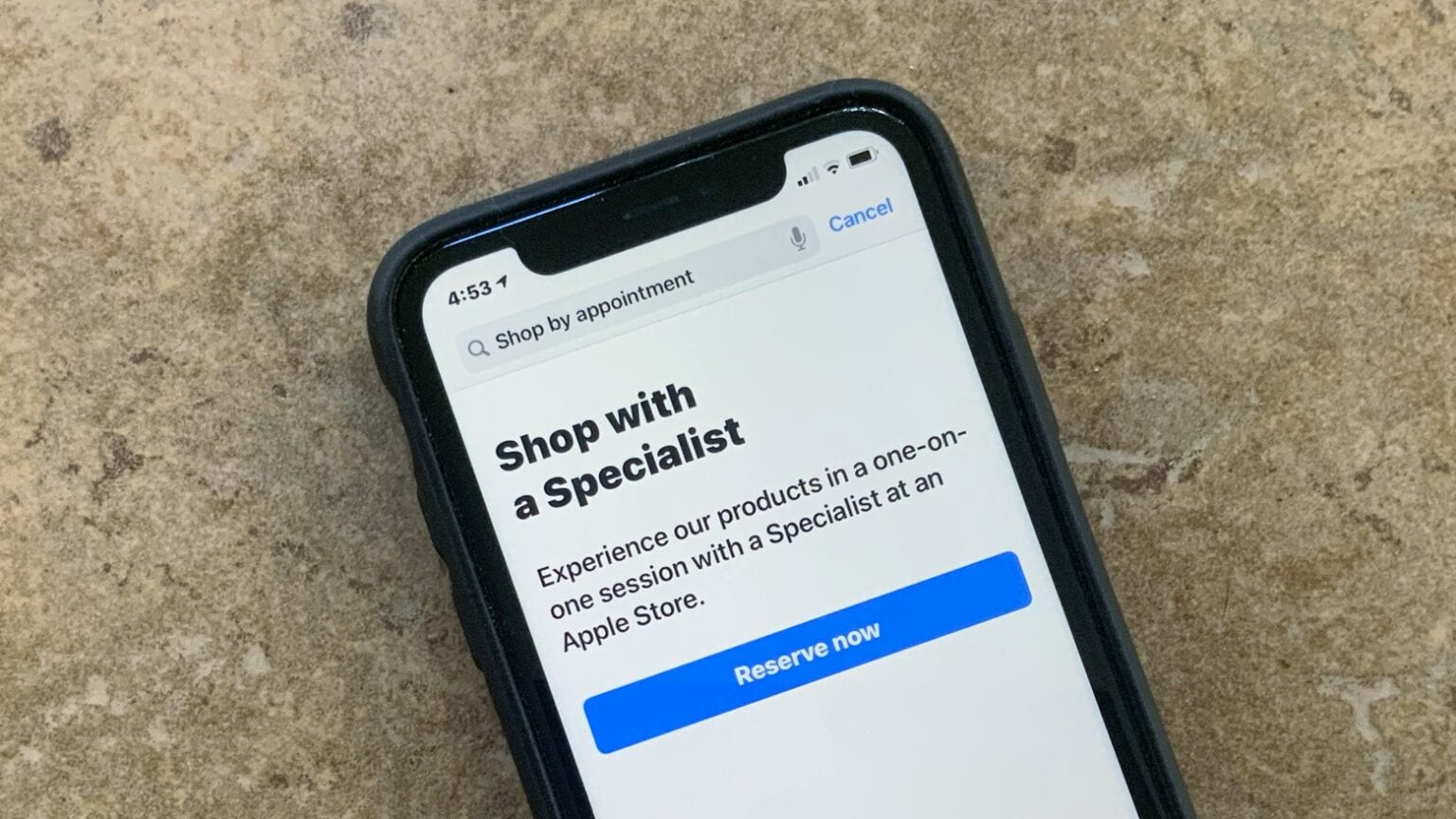 TO deal with COVID-19, Apple Store offer 'Shop with a Specialist' service.