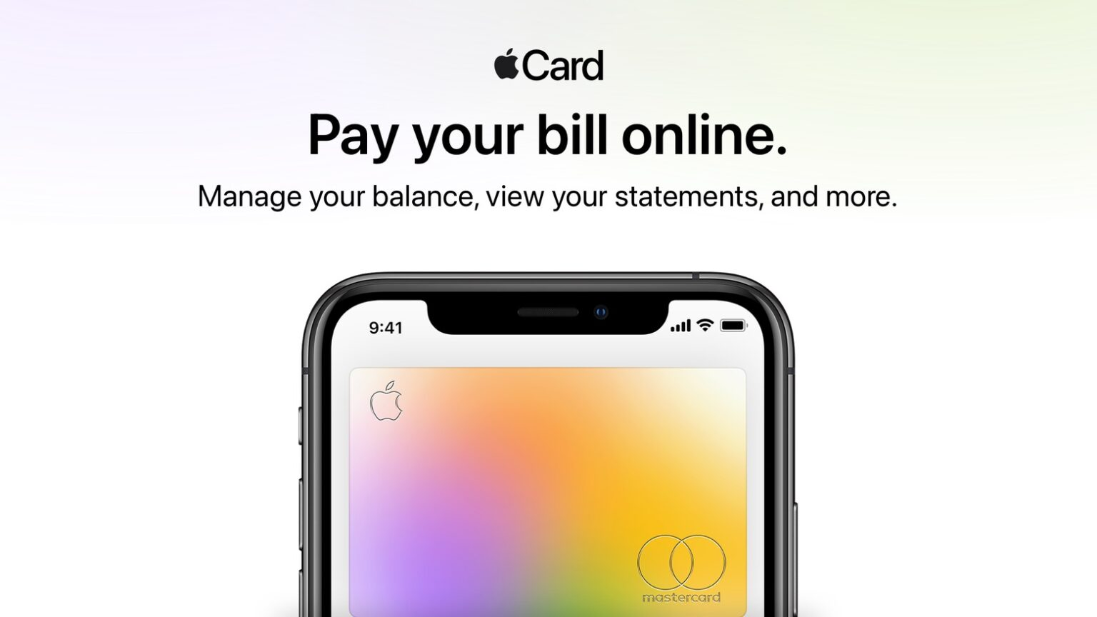 You can pay Apple Card on Apple.com, at last!