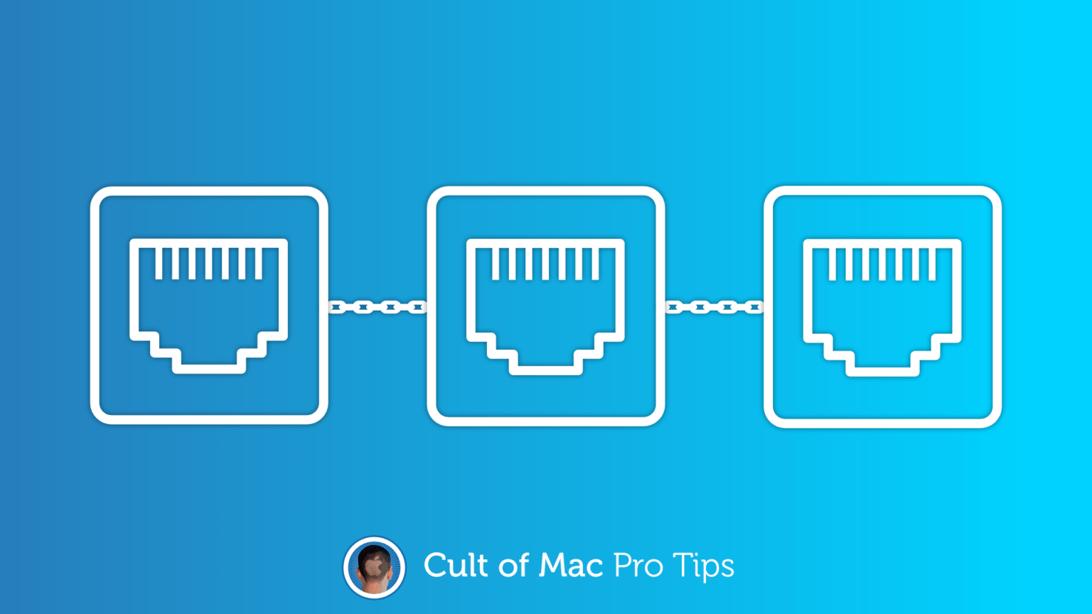 How to merge Ethernet ports on Mac