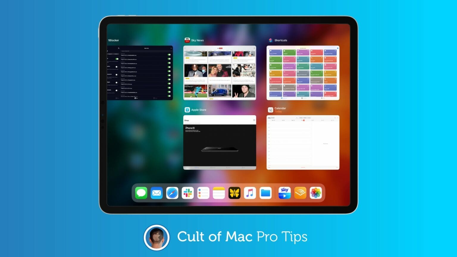 How to quit apps on iPad