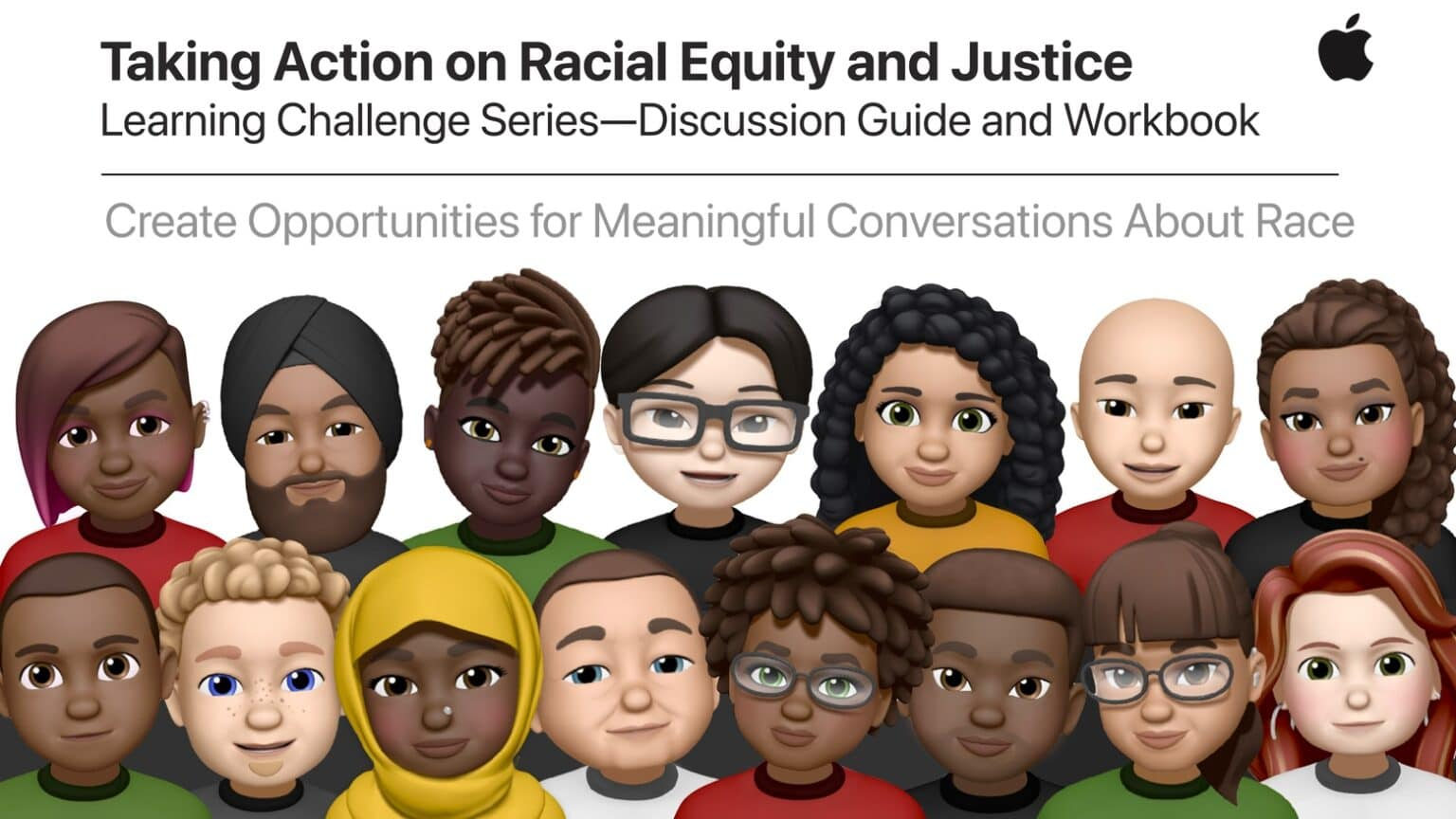 Apple released a guide to talking about Apple racial equity.