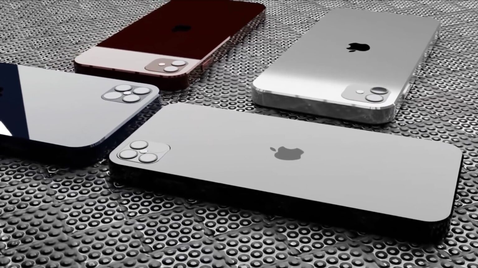This iPhone 12 concept video includes all four models, plus one more.