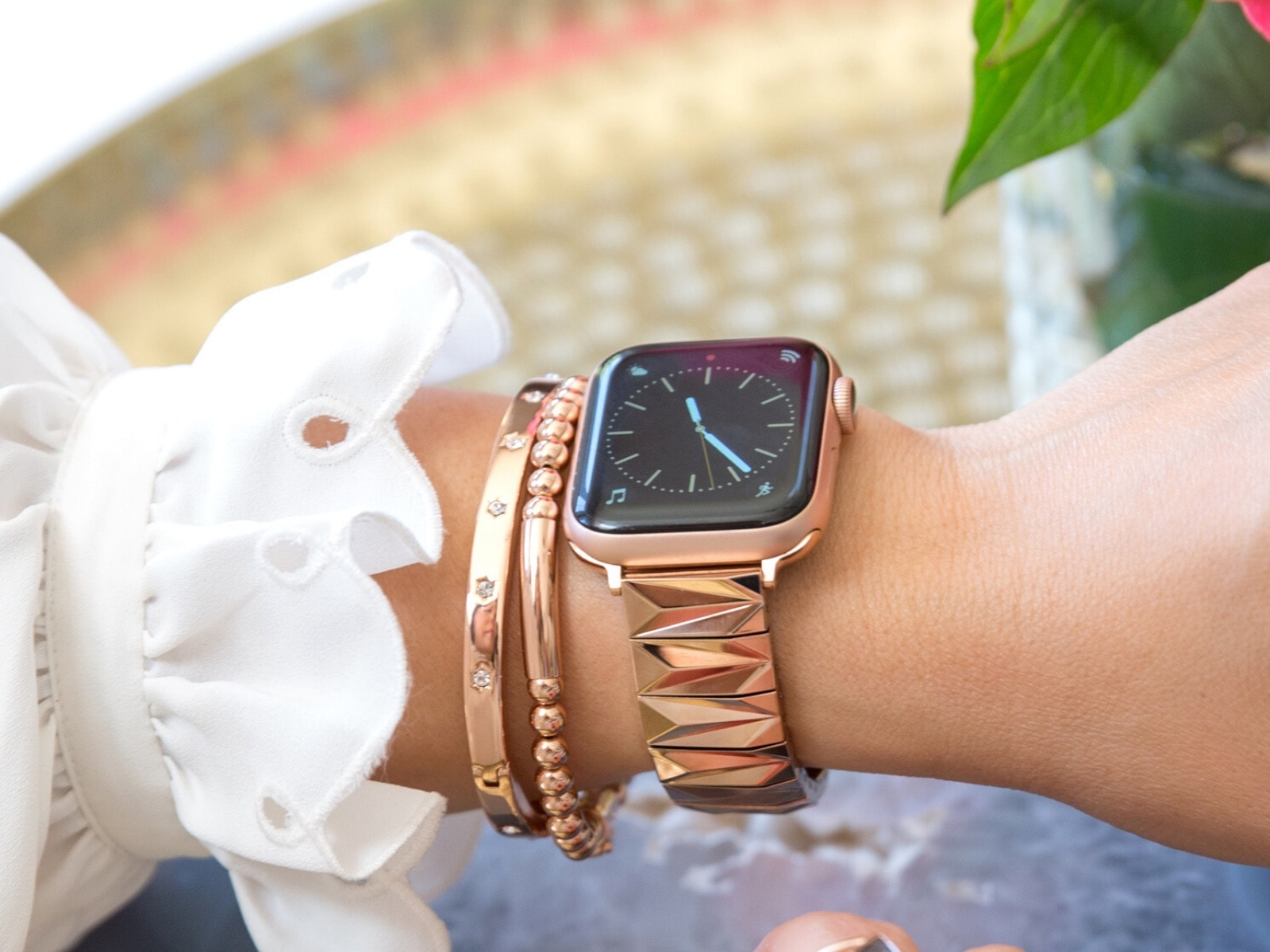 Goldenerre Pyramid bracelet for Apple Watch