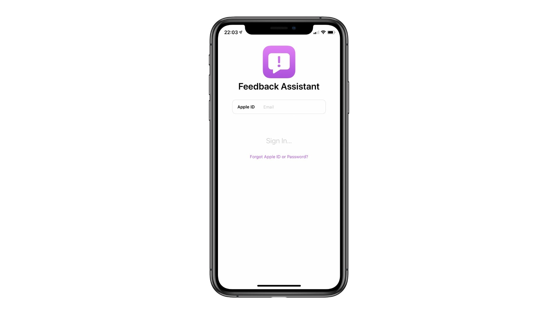 How to report bugs in iOS 14