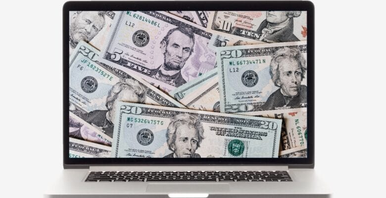 Apple MacBook cash dollars money