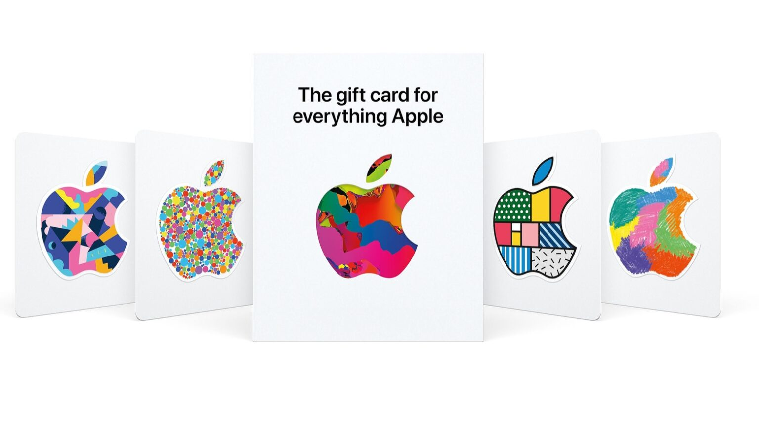 Buy hardware or software with the new Apple gift card.