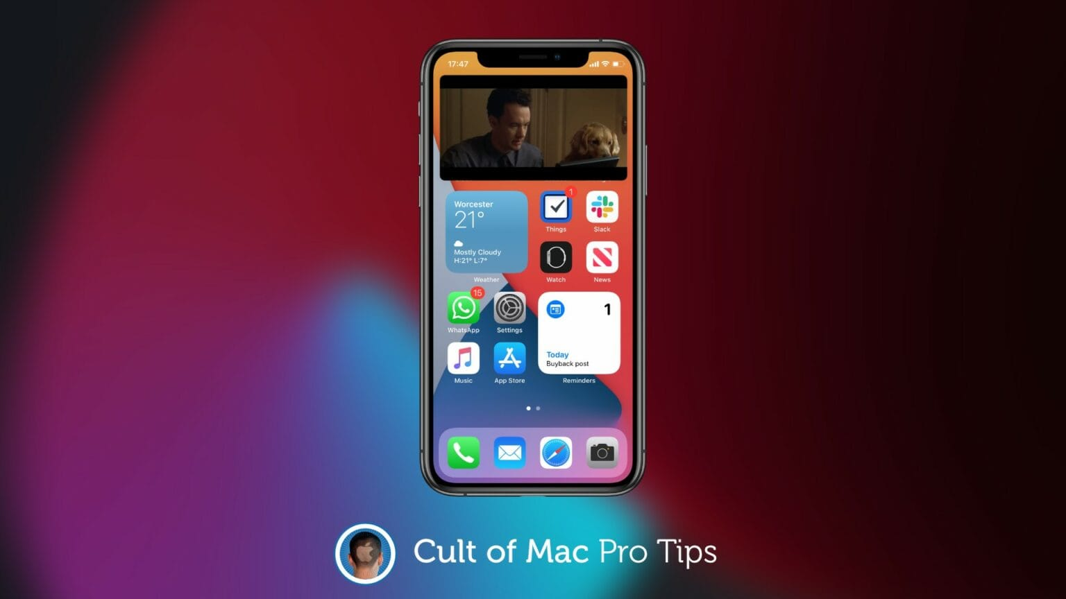 iOS 14 picture-in-picture pro tip