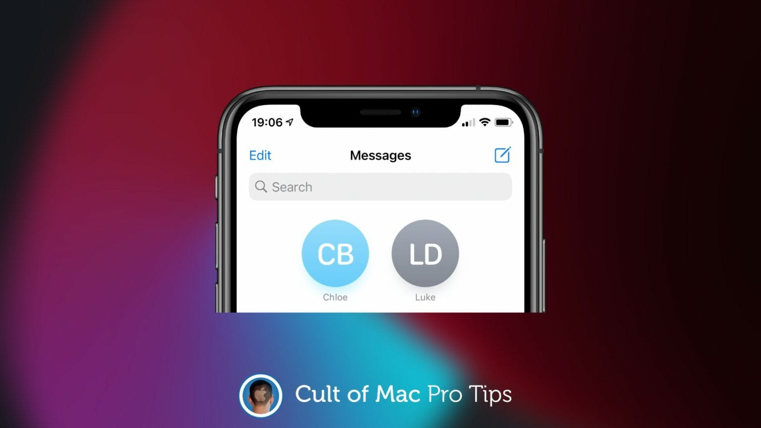 How to pin Messages in iOS 14
