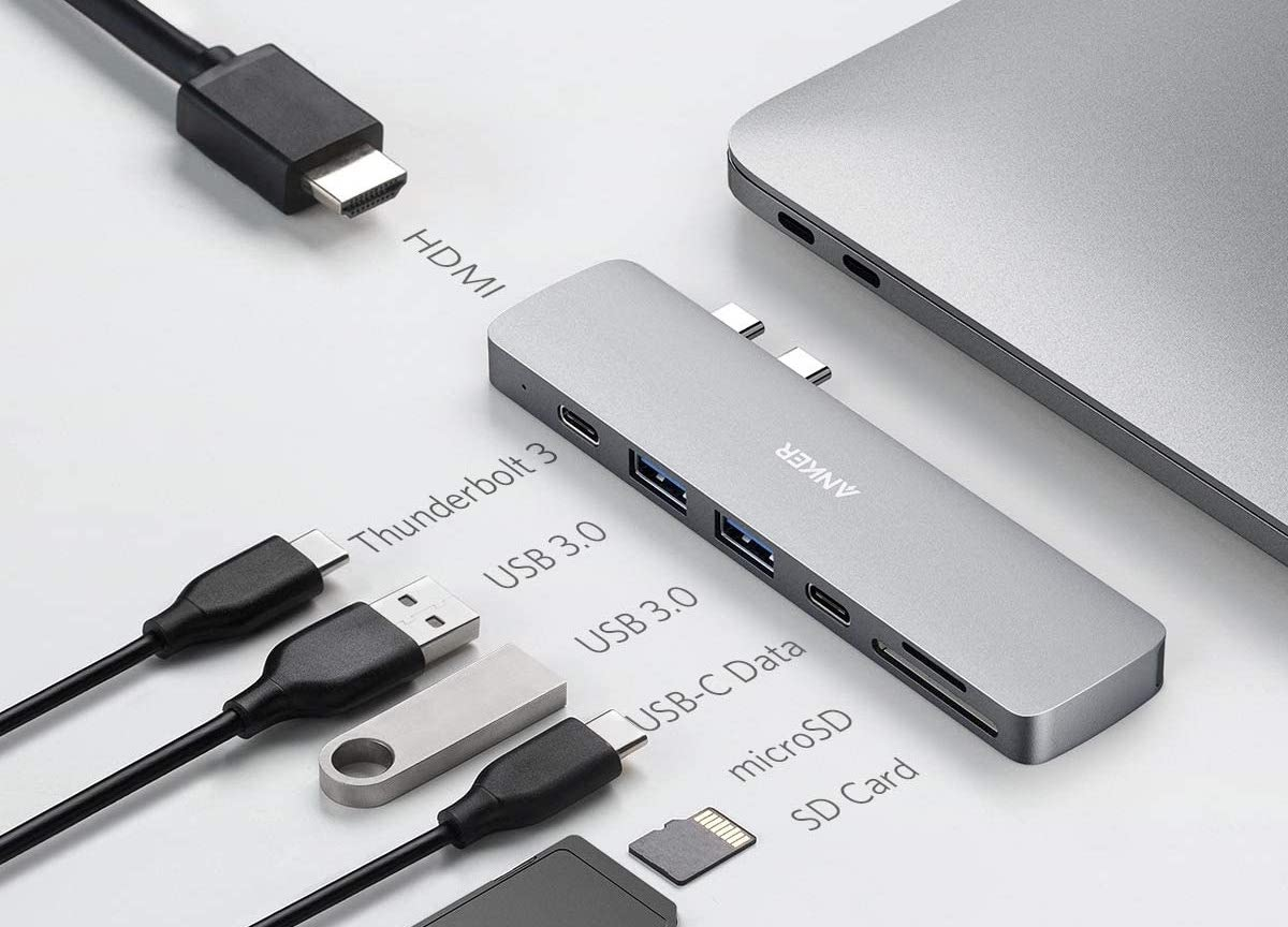Anker 7-in-1 USB-C hub for MacBook