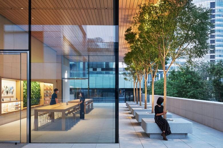 Apple vừa khai trương cửa hàng Apple Store đẹp nhất tại Trung Quốc - Ảnh 4.