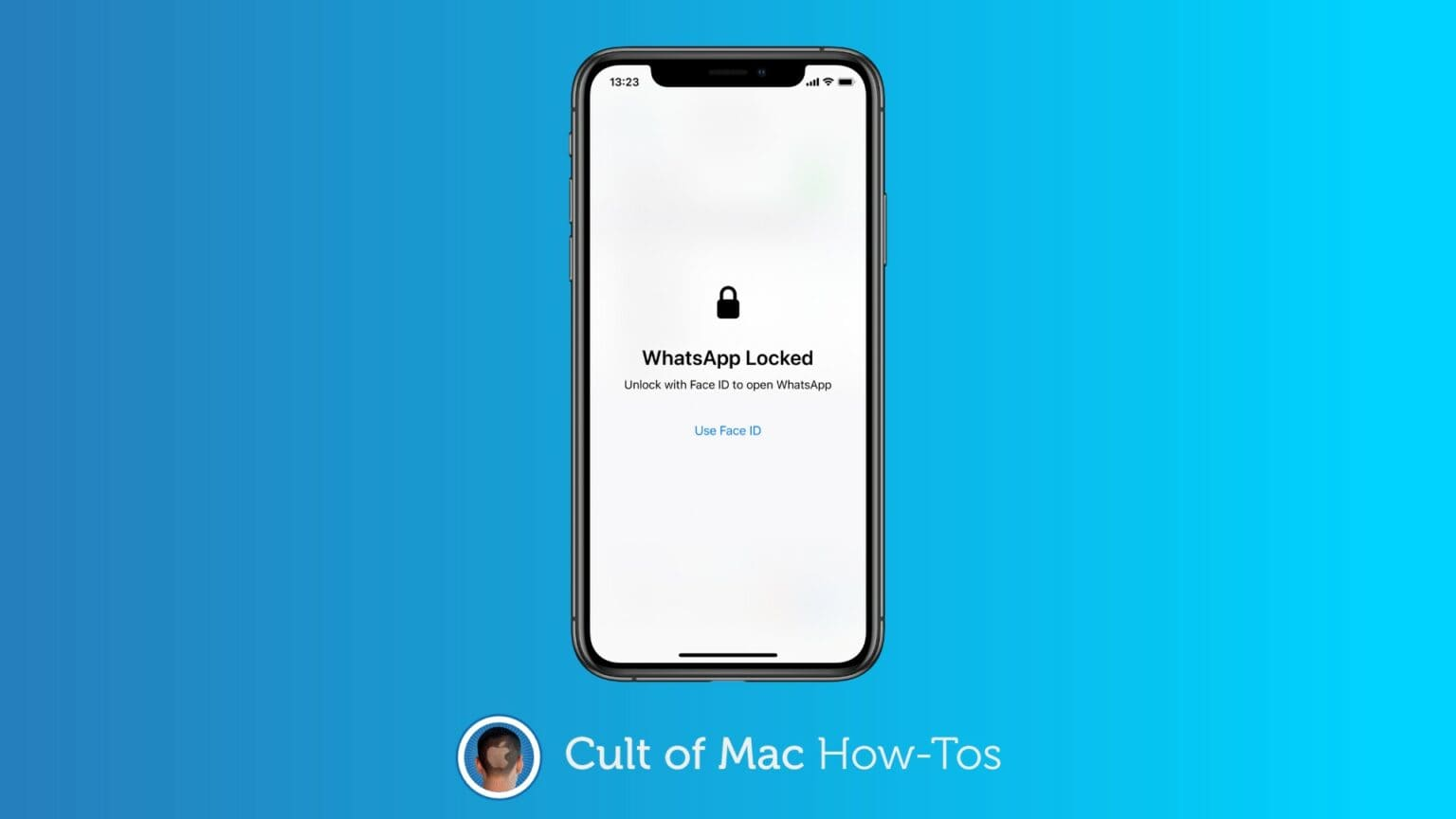 Secure WhatsApp with Face ID or Touch ID