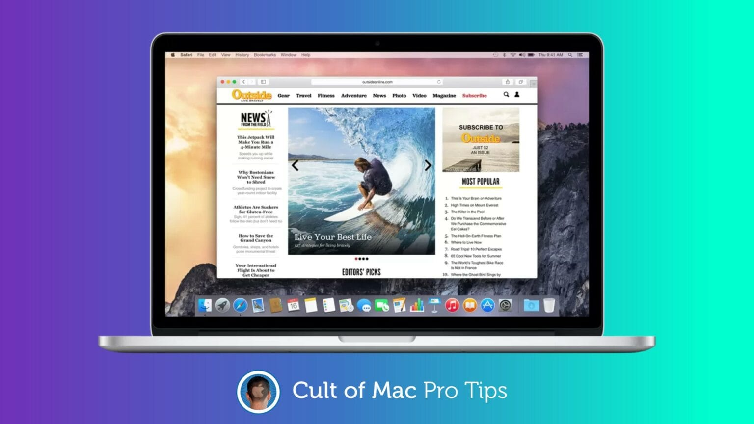 Switch browsers to speed up an old Mac