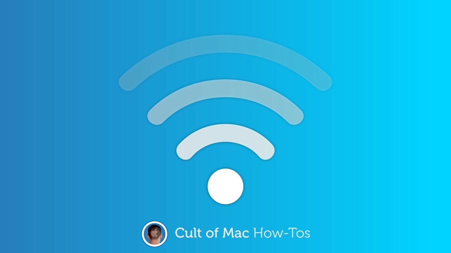 Fix Wi-Fi interference on a Mac
