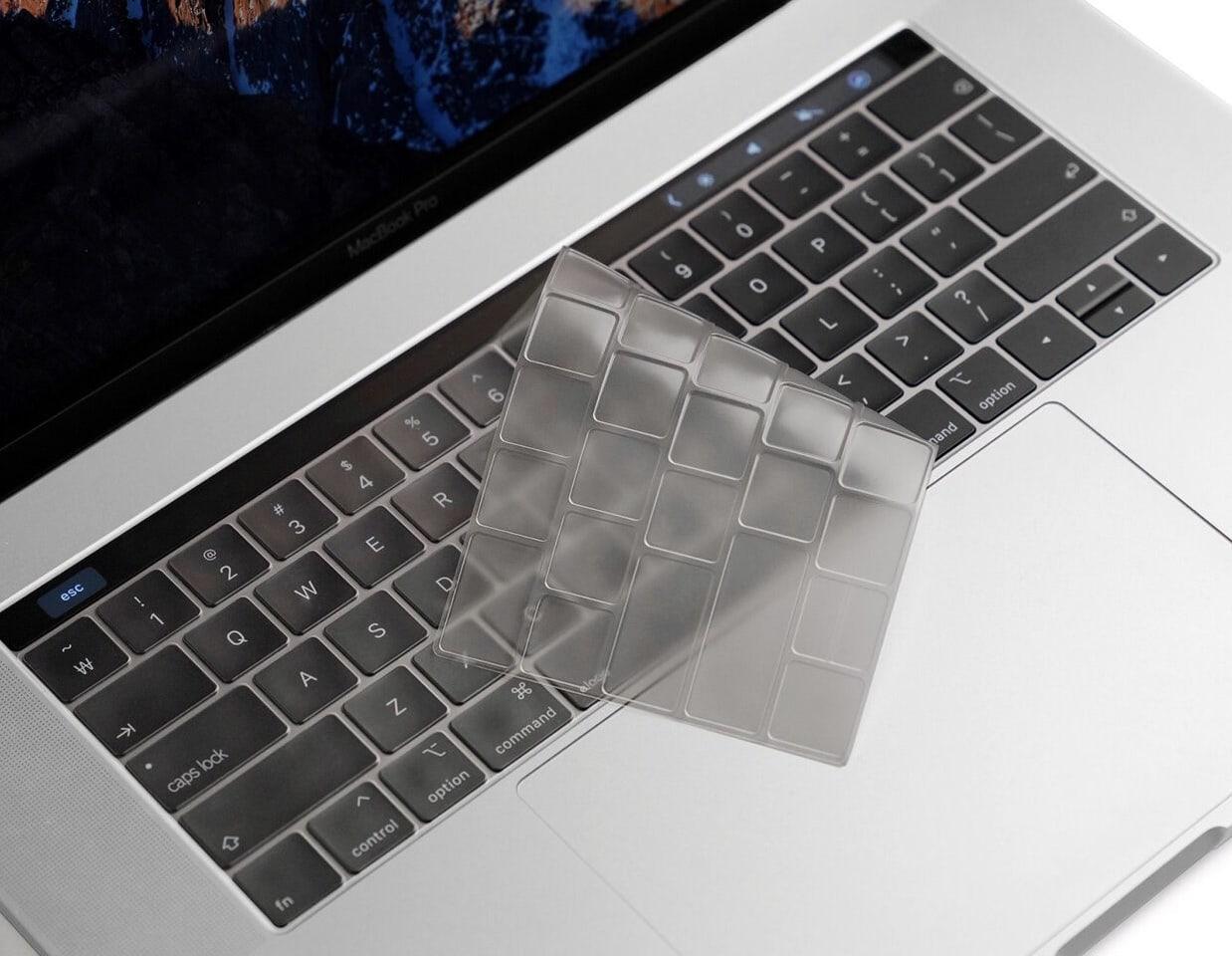 Elago keyboard skin for MacBook