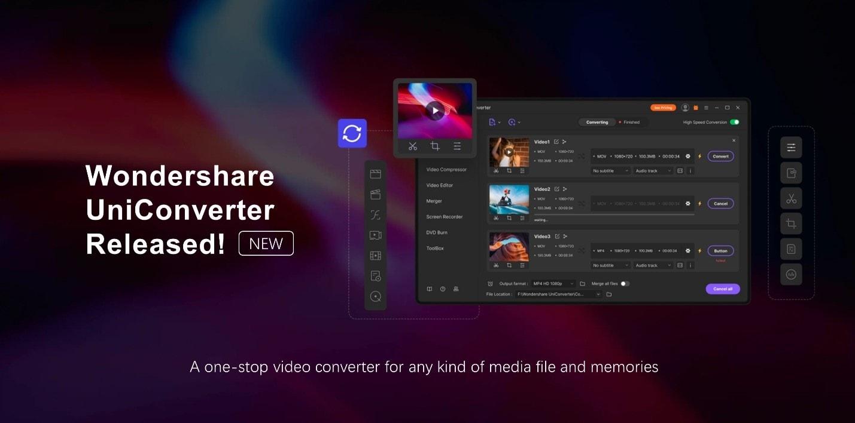 Wondershare UniConverter updated