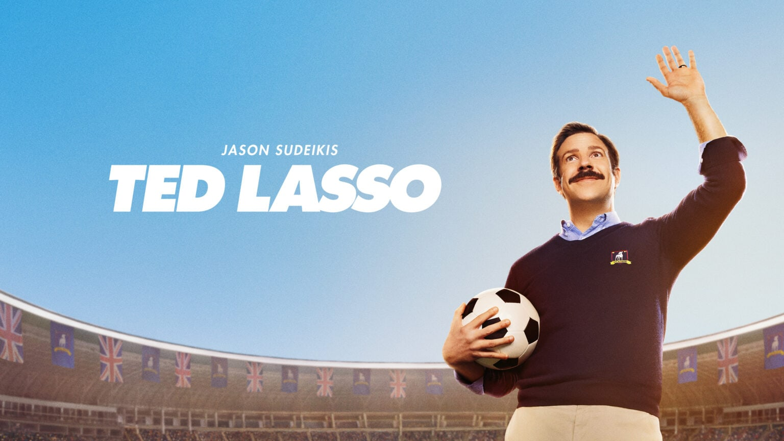 Jason Sudeikis plays a clueless college football coach in the Apple TV+ comedy series