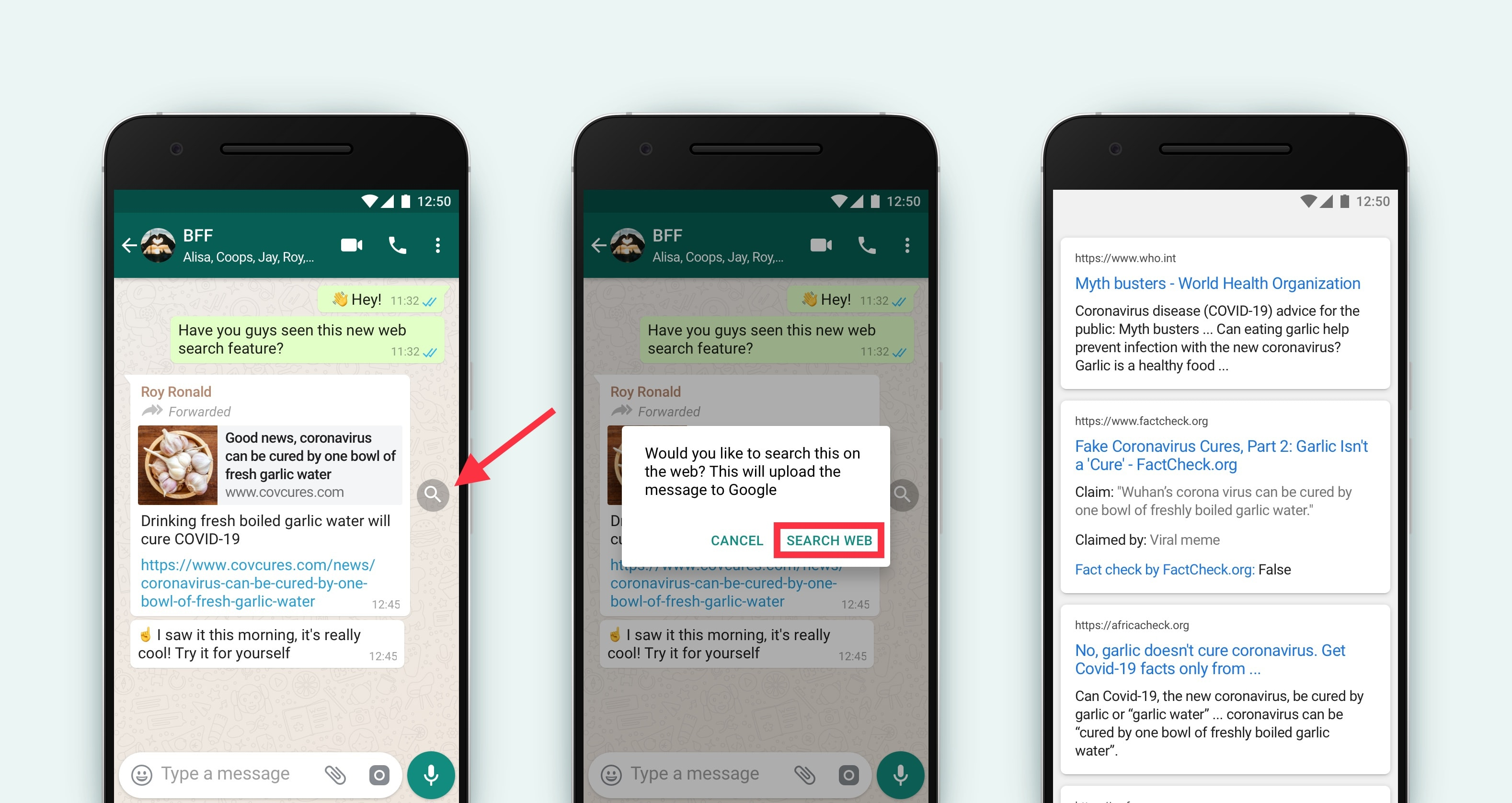How to fact-check fake news on WhatsApp